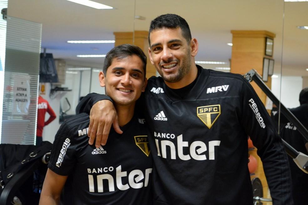 Diego Souza foi fundamental na contratação de Everton Felipe (Foto: Érico Leonan / saopaulofc.ne)