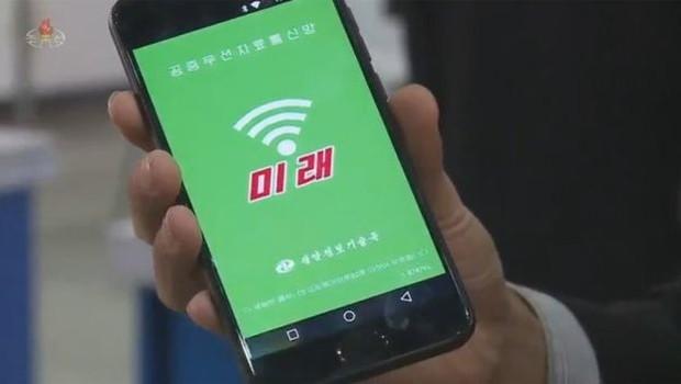O serviço de wi-fi Mirae requer um cartão de celular para funcionar (Foto: KCTV via BBC)