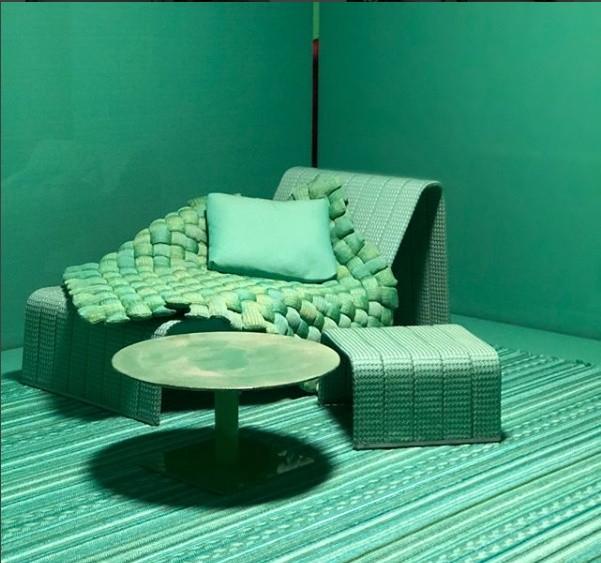 A designer Paola Lenti criou diversos ambientes brincando com as cores (Foto: Casa e Jardim)