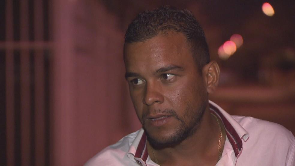 Jefferson Lopes, topógrafo (Foto: Reprodução/TV Globo)