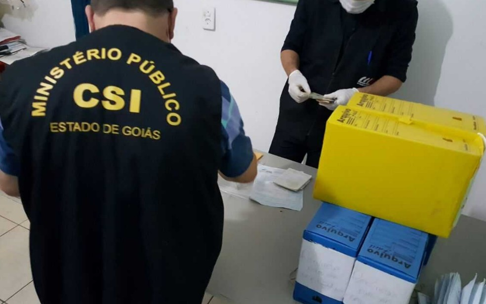 Operação contra fraude em programa de moradia popular prende ex-vereador, em Goiânia (Foto: Divulgação/MP-GO)
