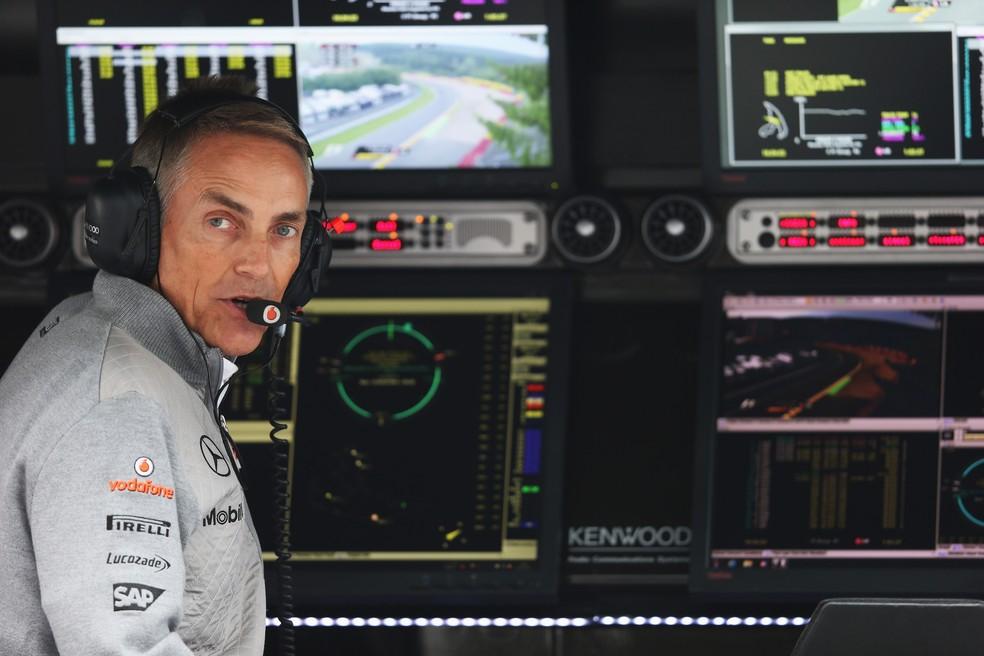 Martin Whitmarsh, ex-chefe da McLaren, trabalhará com Hamilton em iniciativa por diversidade — Foto: Getty Images