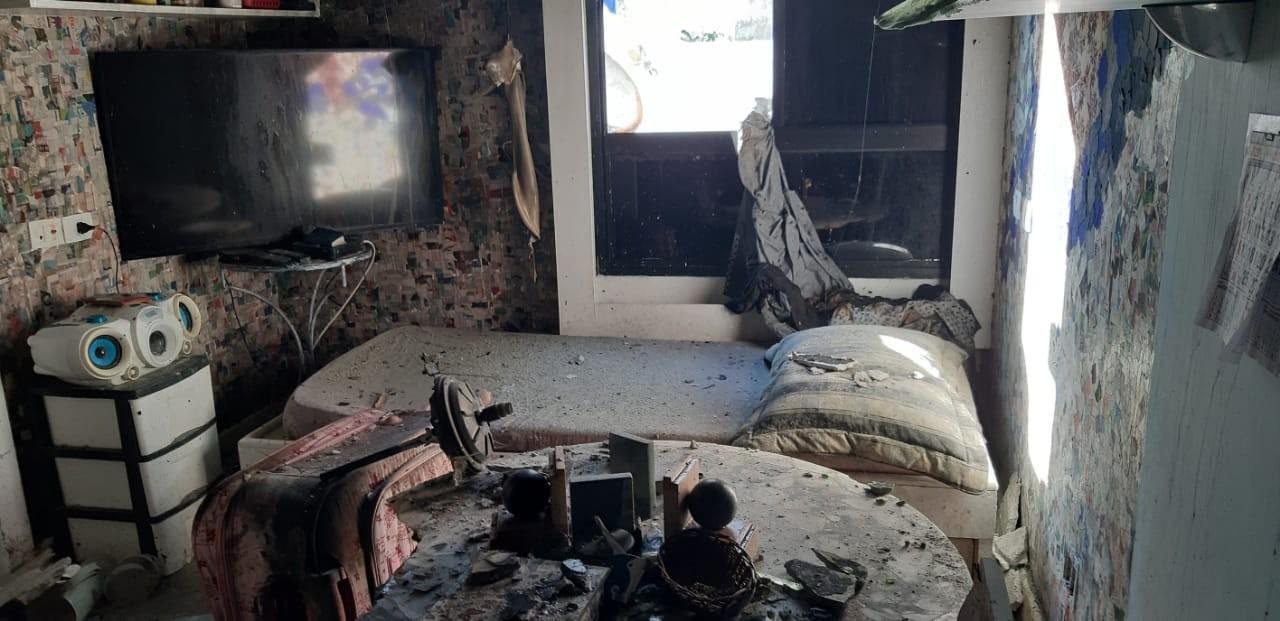 Incêndio atinge apartamento no bairro da Graça, em Salvador; FOTOS