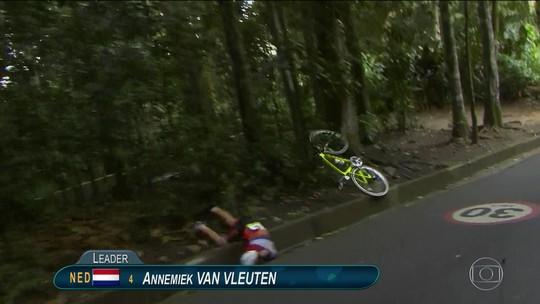 Holandesa Van Vleuten vence Mundial um ano depois de queda nos Jogos do Rio