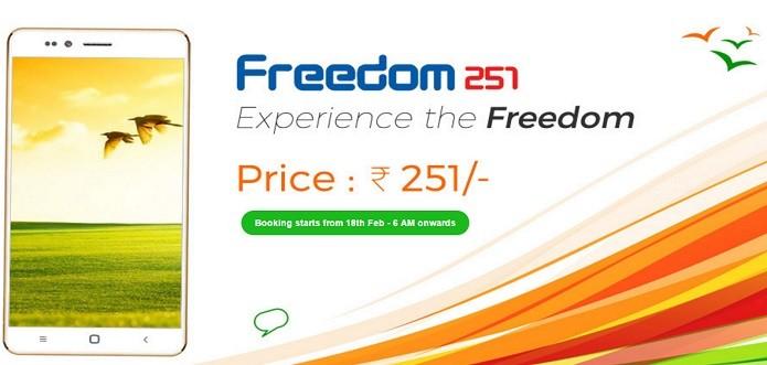 Freedom 251 tem preço mais baixo do mundo (Foto: Divulgação/Ringing Bells)
