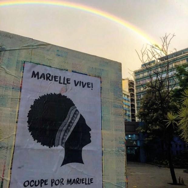 UERJ em Amanhecer por Marielle (Foto: Reprodução Instagram)