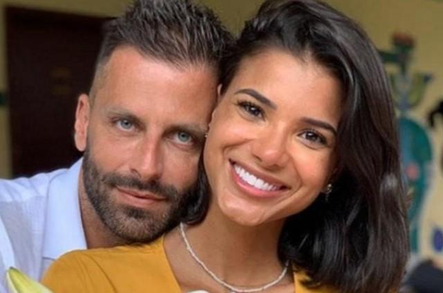 Henri Castelli e a ex-namorada, Jakelyne Oliveira (Foto: Reprodução/Instagram)