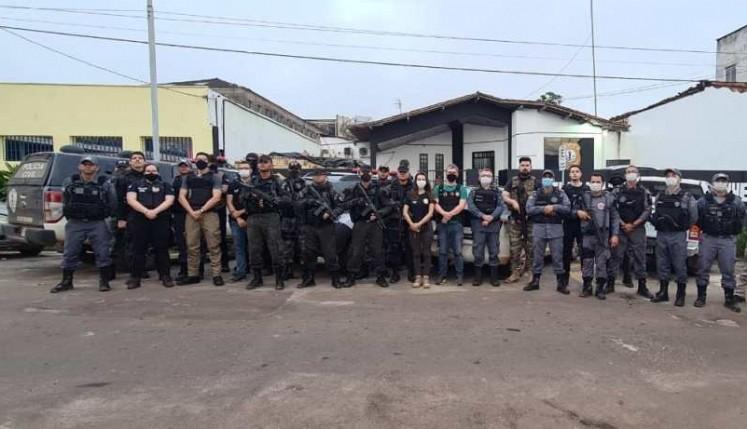 Operação da Polícia prende membros de facção criminosa no Maranhão