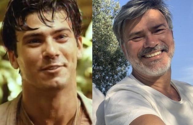 Leonardo Vieira viveu o protagonista José Inocêncio na primeira fase. Atualmente, o ator vive em Portugal e está longe da TV (Foto: Reprodução)