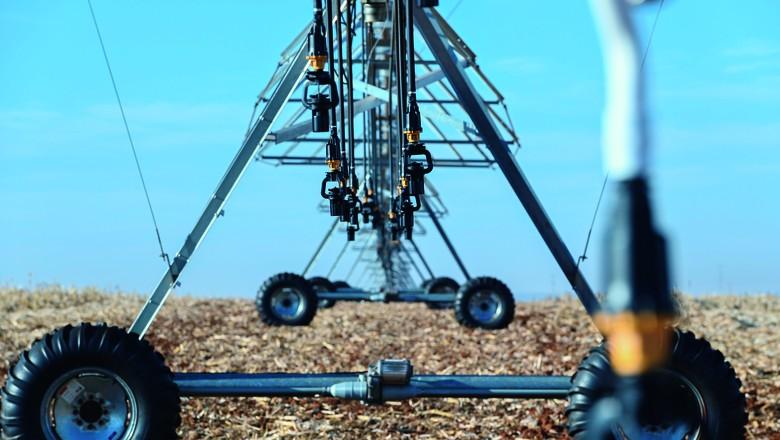 agricultura-irrigacao-pivo-fazenda (Foto: Cristiano Borges)