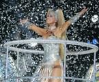 Xuxa foi enredo da Caprichosos de Pilares em 2004 | Arquivo O Globo
