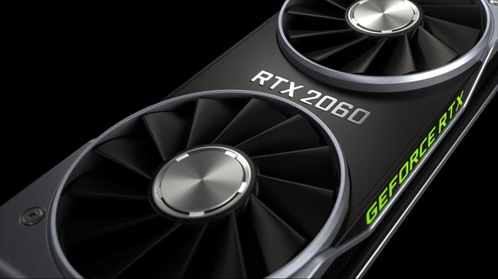 Uma placa GeForce RTX 2060 oferece desempenho em Teraflops similar ao do Xbox Series X — Foto: Reprodução/Nvidia