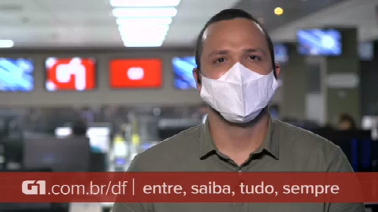 G1 em 1 Minuto: Vacinação de idosos no DF será feita apenas com agendamento