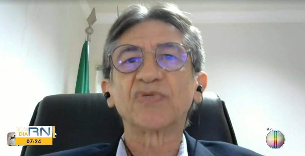 Nereu Linhares, presidente do Ipern — Foto: Reprodução/Inter TV Cabugi