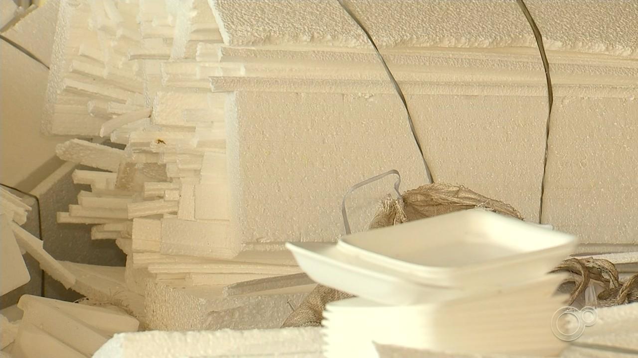Decreto que proíbe uso de embalagens de isopor é publicado em Sorocaba