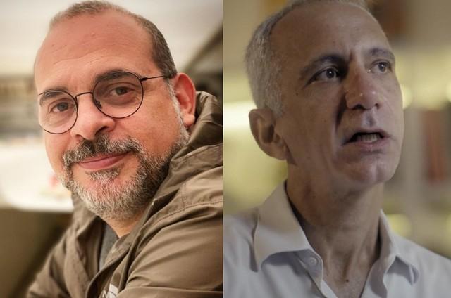 Fabricio Mamberti e Marcel Souto Maior (Foto: Reprodução)