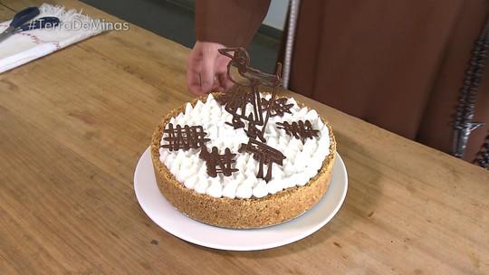 Aprenda receita de torta de cappuccino