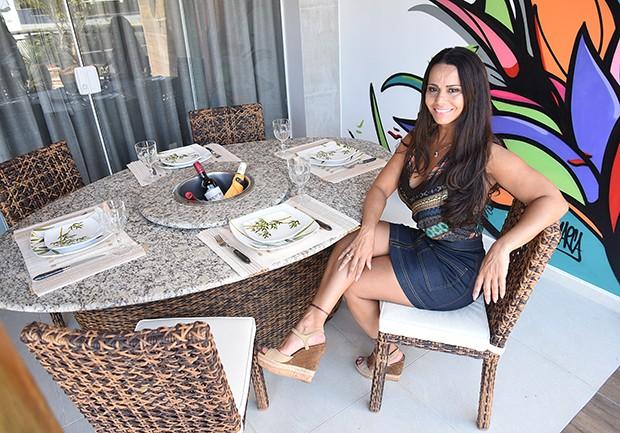 Viviane Araújo (Foto: Ari Kaye/Divulgação NOP Arquitetura)