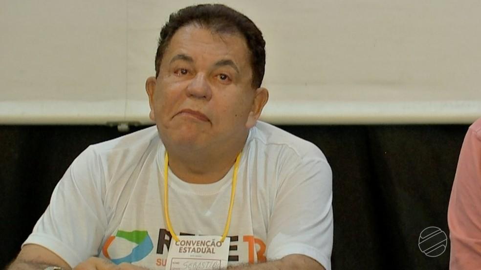 Sebastião Carlos (Rede), candidato ao Senado (Foto: TVCA/ Reprodução)