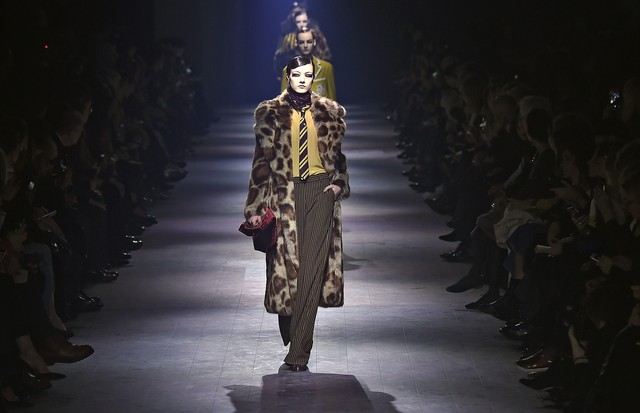 Dries Van Noten, inverno 2016 (Foto: Getty Images)