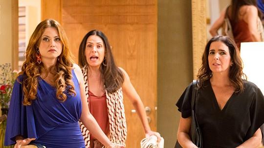 Leonora, Penélope e Rebeca são gente como a gente! Veja situações hilárias do trio