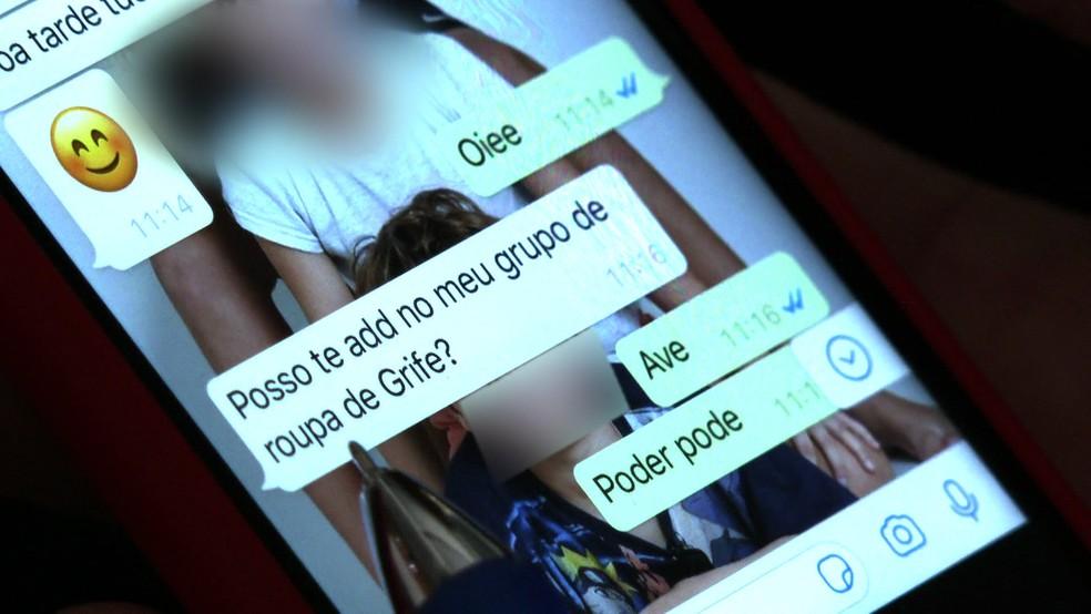 Vítimas de golpe aplicado por meio do WhatsApp denunciaram crime no Recife — Foto: Reprodução/TV Globo
