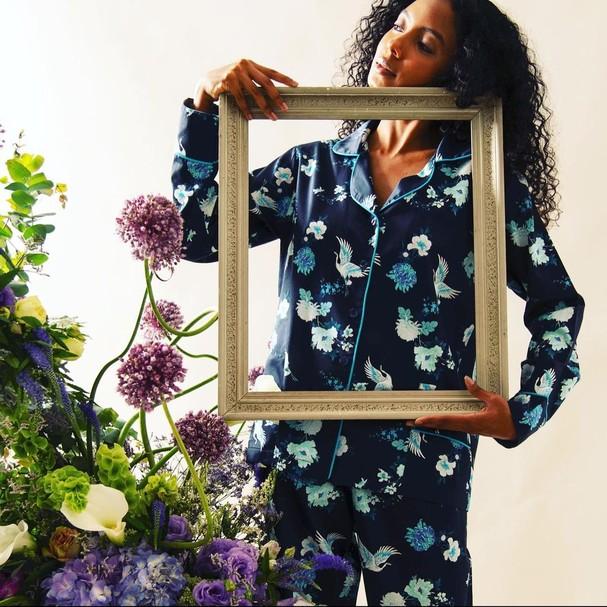 Pijama lillas en provence (Foto: Reprodução/Instagram)