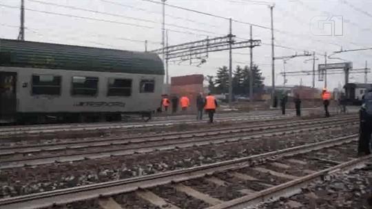 Descarrilamento de trem na Itália deixa mortos e 100 feridos