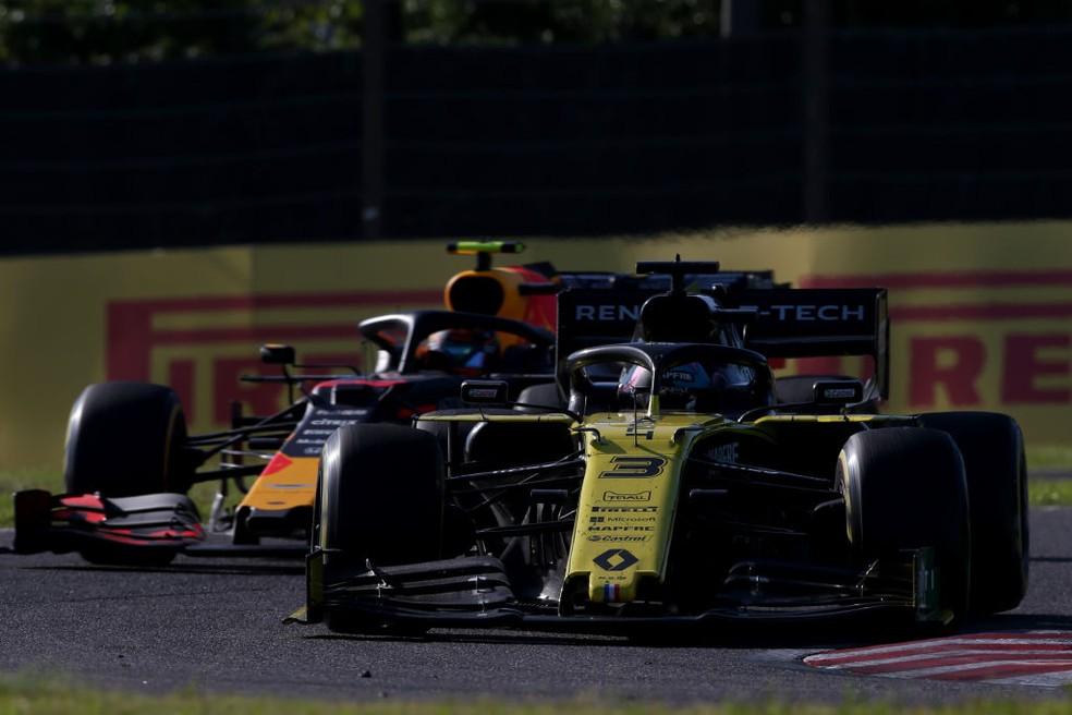 Daniel Ricciardo no GP do Japão de 2019 — Foto: Charles Coates/Getty Images