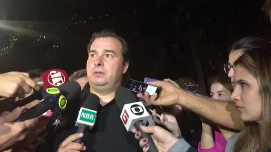 Rodrigo Maia diz esperar aprovar reforma da Previdência ainda em dezembro
