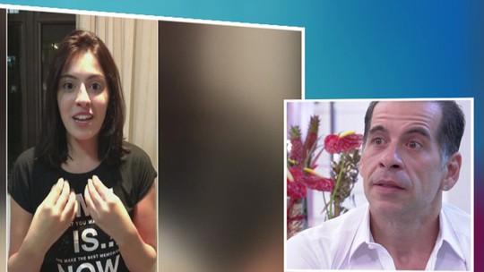 Leandro Hassum chora com recado da filha Pietra