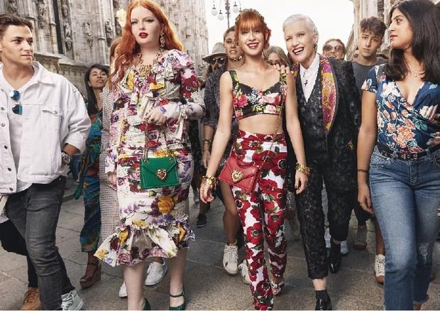 Marina Ruy Barbosa na campanha da Dolce & Gabbana (Foto: Franco Pagetti)