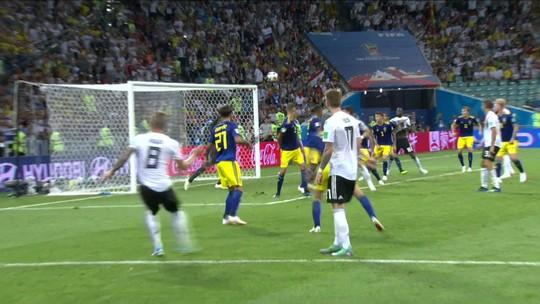 Veja o golaço de Kroos e os outros gols do jogão entre Alemanha e Suécia