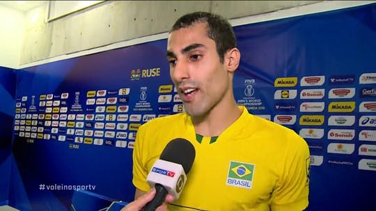 Douglas Souza dedica vitória sobre o Canadá a jogador que faleceu na Espanha