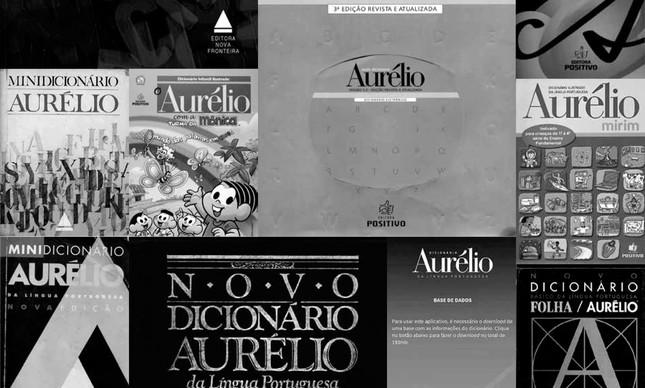 Anotações da Elza Tavares para o dicionário Aurélio
