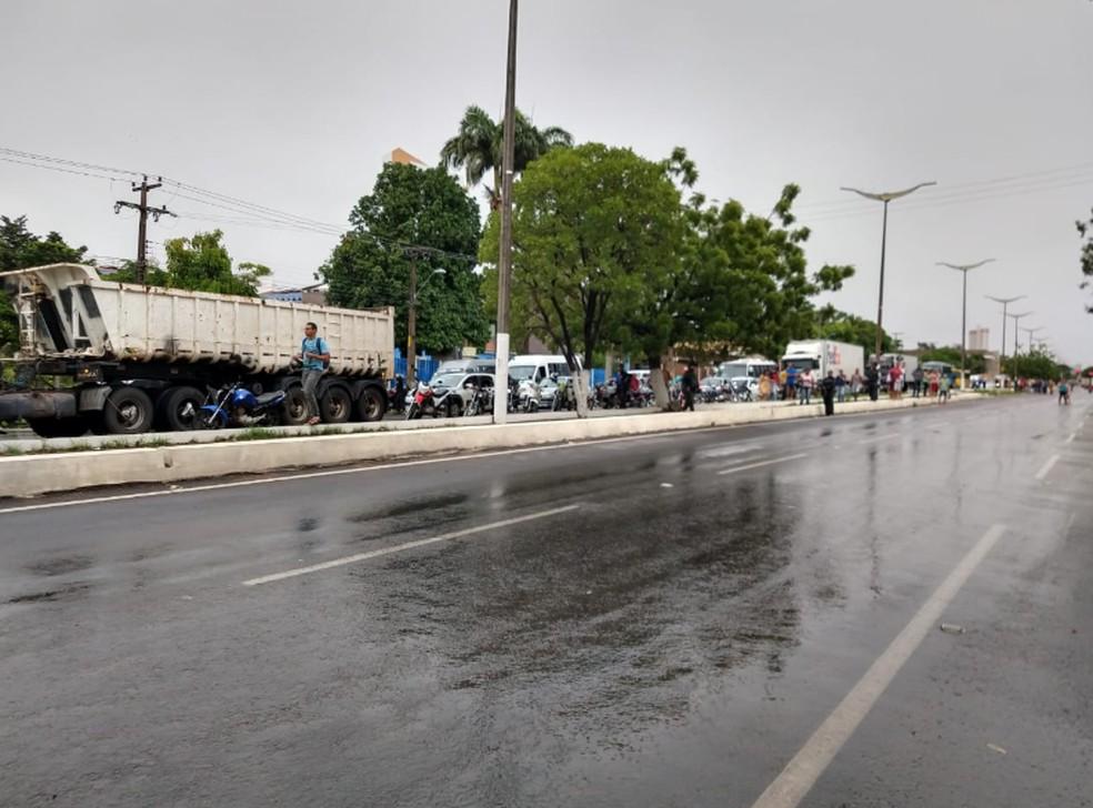Avenida Padre Cícero em Juazeiro do Norte. — Foto: Lorena Tavares/Sistema Verdes Mares