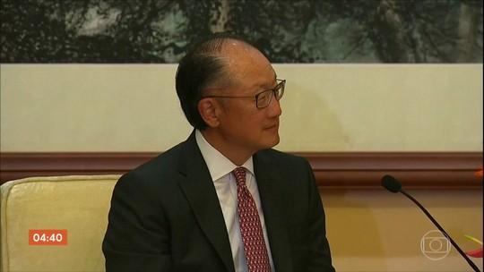 Presidente do Banco Mundial renuncia quatro anos antes de fim do mandato
