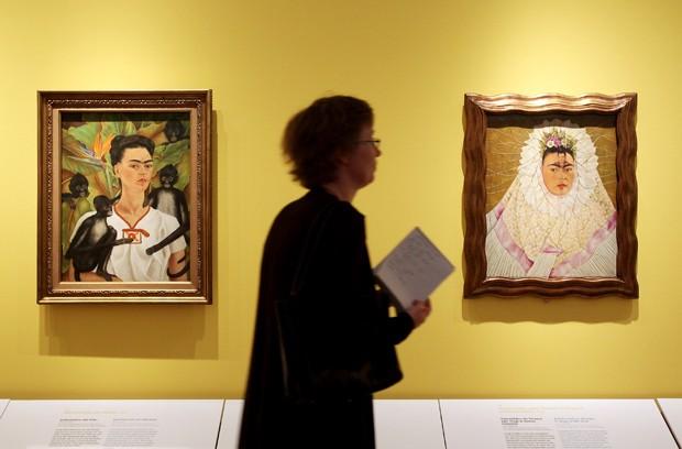 Frida Kahlo em exposição em Berlim, Alemanha (Foto: Getty Images)