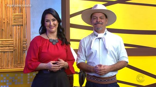 Tchê Guri leva muito fandango para o palco do 'Galpão Crioulo'; reveja os vídeos do programa