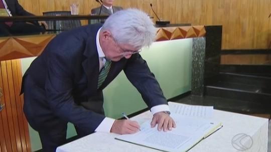 Odelmo Leão toma posse como prefeito de Uberlândia