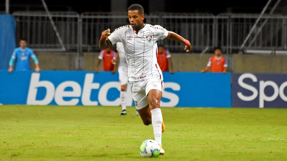 Caio Paulista fez gols decisivos no Campeonato Brasileiro — Foto: Mailson Santana / Fluminense FC