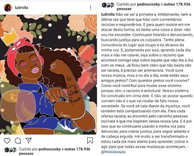 Ludmilla (Foto: Reprodução/Instagram)