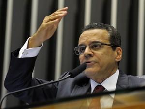 O presidente da Câmara, Henrique Alves, que prometeu aprovar a proposta durante campanha (Foto: Luis Macedo/Ag.Câmara)