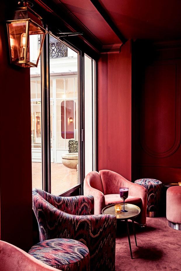 Hotel des Grands Boulevards, em Paris (Foto: Karel Balas)