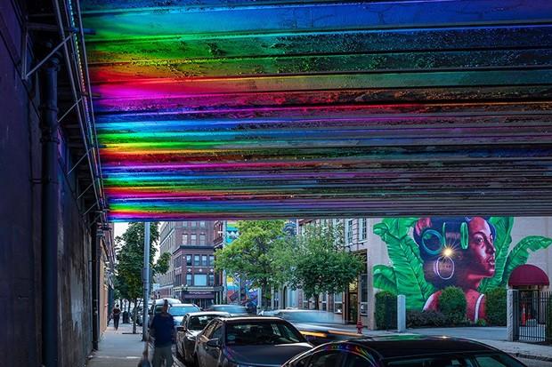 Instalações buscam diminuir criminalidade e aumentar movimento em cidade dos EUA (Foto: Reprodução)