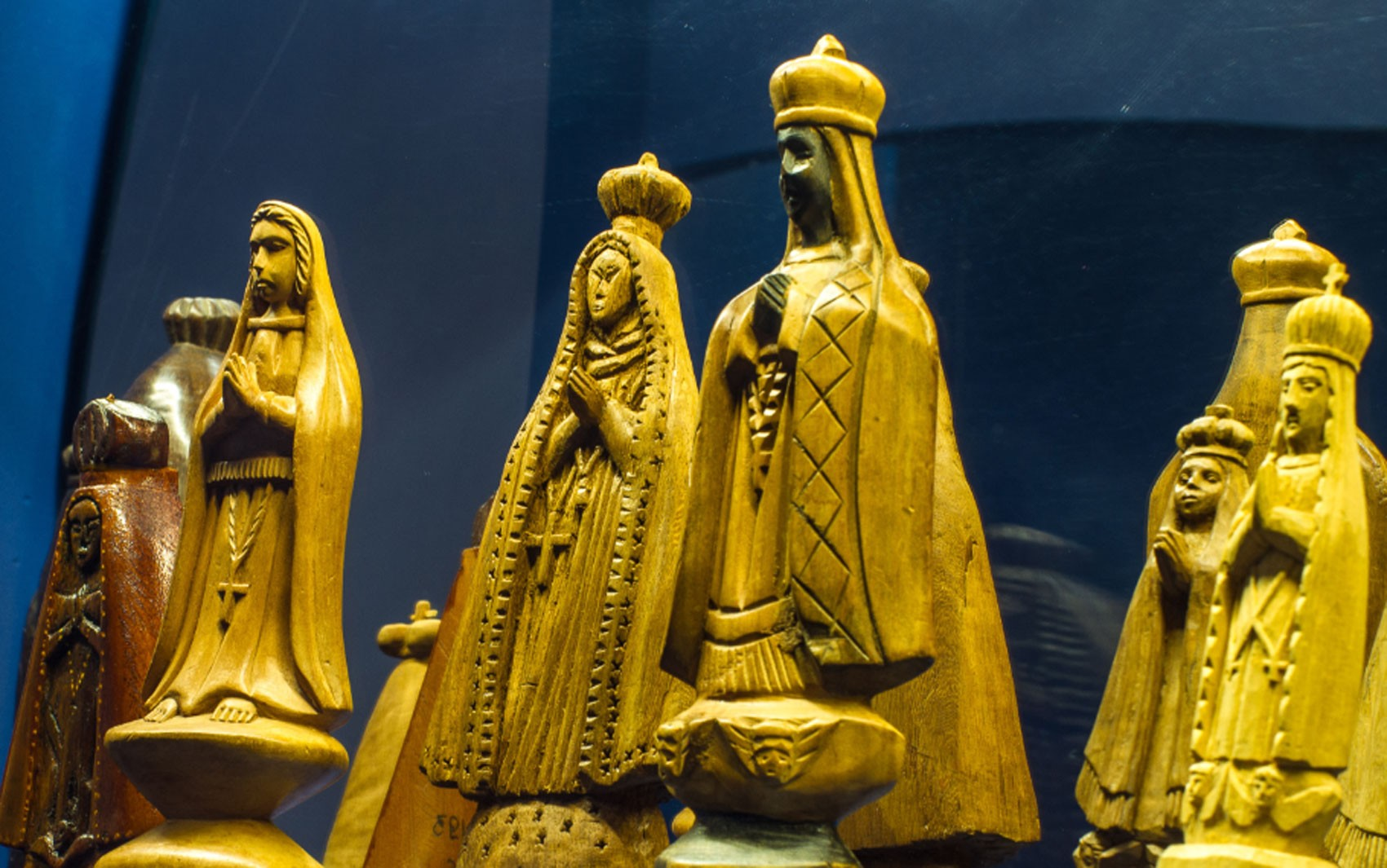 Museu de Arte Sacra faz exposição sobre Nossa Senhora de Aparecida