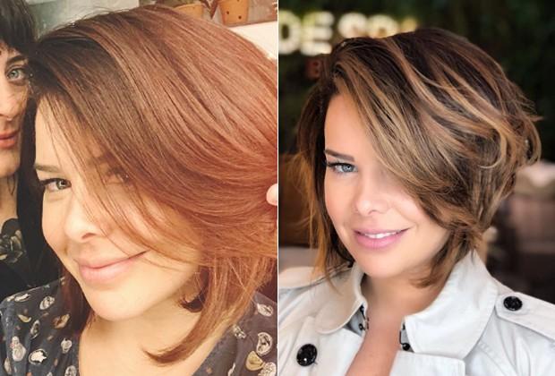 Resultado de imagem para cabelo curto fernanda souza