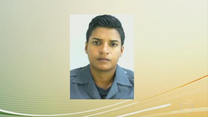 Imagem da PM Juliane Santos Duarte, de 27 anos, encontrada morta após desaparecer na favela de Paraisópolis (Foto: Reprodução/TV Globo)