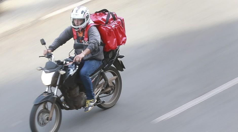 Sistema de delivery ganhou mais visibilidade com a crise do coronavírus (Foto: Marcello Casal Jr/Agência Brasil)