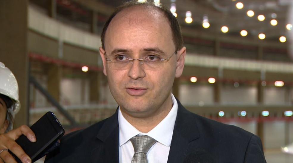 Ministro da Educação esteve em Campinas nesta quinta-feira (Foto: Reprodução/EPTV)